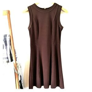 Michael Kors brown A-line dress